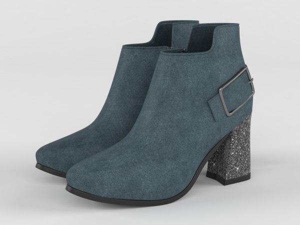 heels womens shoes 3D model