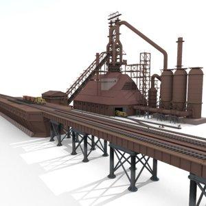 blast furnace 3D