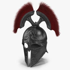 sparta helmet v2 3D