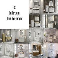 3D bathroom furniture - model