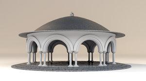 3D architecture structure building