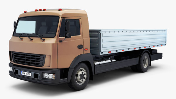 3D generic truck medium duty