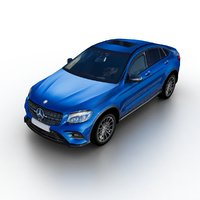 2016 mercedes-benz glc 3D model