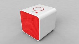 3D model speaker wireless player