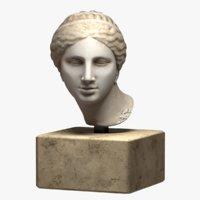 kaufmann head aphrodite 3D