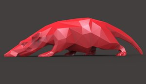 3D original rat