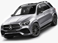 Mercedes GLE 2020 AMG line