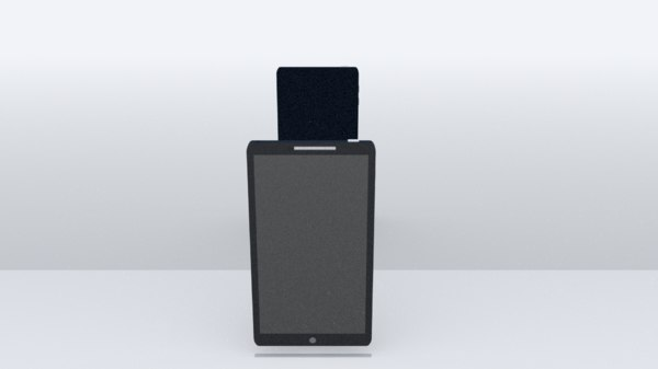 3D phone blender model