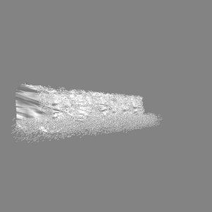 horizontal waterfall animations model
