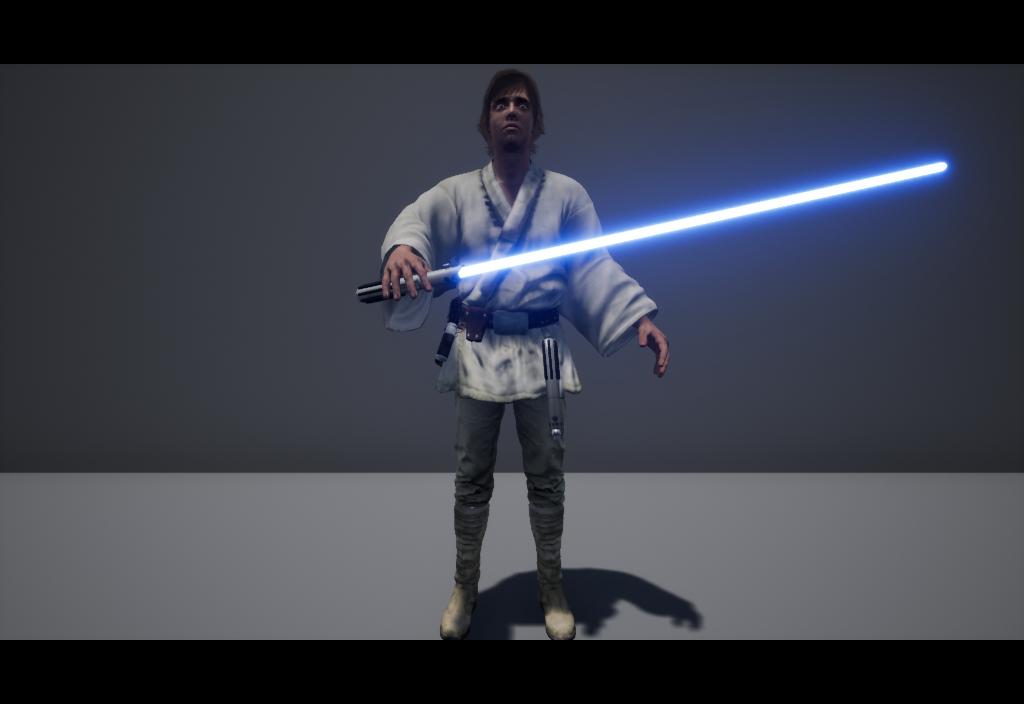 3D luke skywalker tatooine model