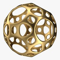 3D model ball design