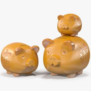 piggy banks model