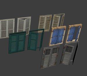 3D shutter set model
