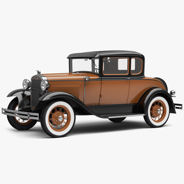 3D deluxe coupe 1931