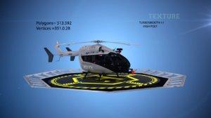 3D model eurocopter ec 145