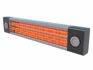 3D heat heater