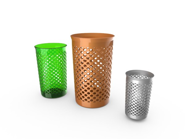 fancy trash 3D