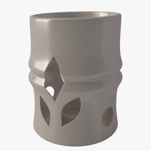 3D model aroma lamp