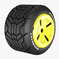 Standard Tire Mario kart (Normal) Wheel