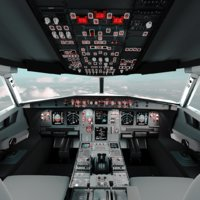 Airplane Cockpit (A320)