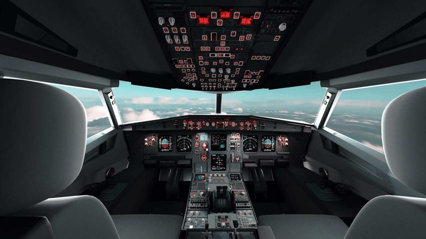 Airplane Cockpit (A320)