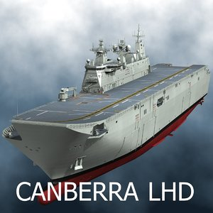 3D model lhd canberra