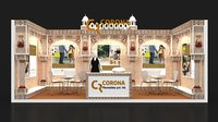 EXHIBITION STALL 6x3 2 DESIGN IN 1