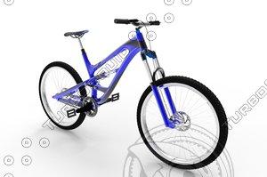 mountain bike bicycle 3D model