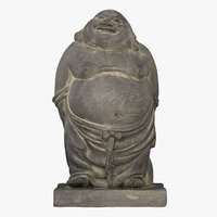 3D model budai fat buddha