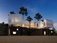 scene hotel 3D