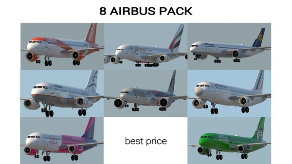 3D airbus model