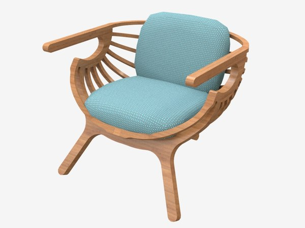 3D model chair furnishings furniture