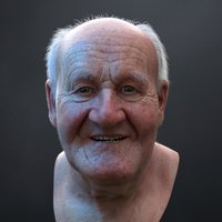 3D ultra realistic old man