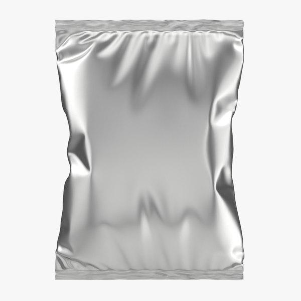 realistic packaging 3D model