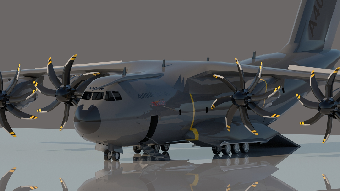 airbus a400m 400 3D model