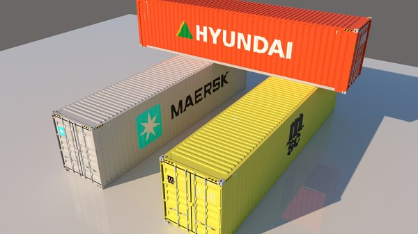 3D container pack