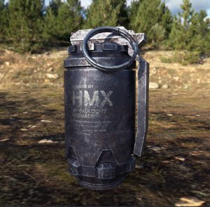 granade 3D model
