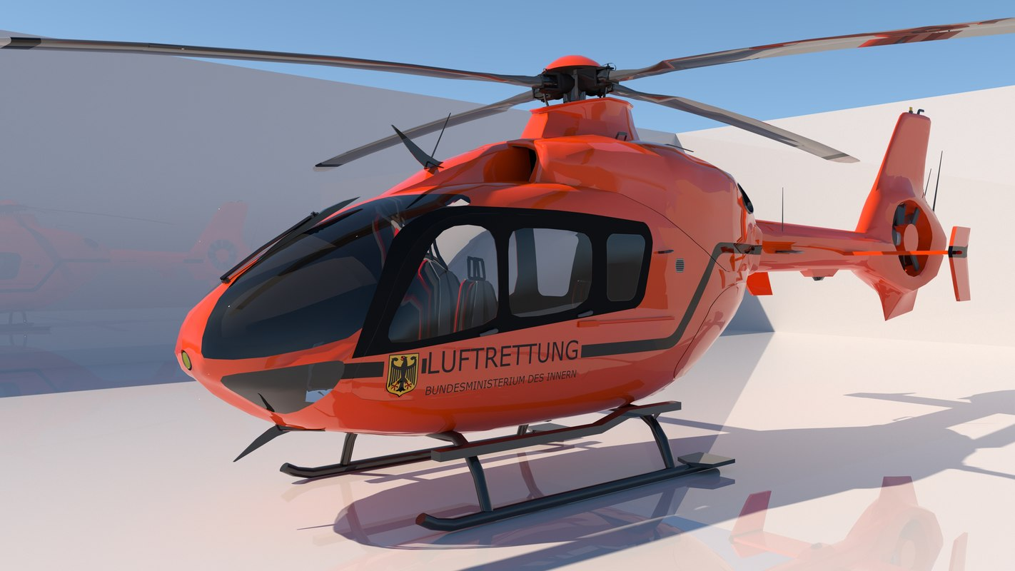 3D copter helicopter model
