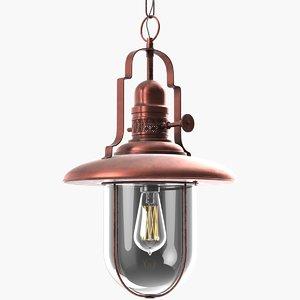 lighthouse lamp 3D model