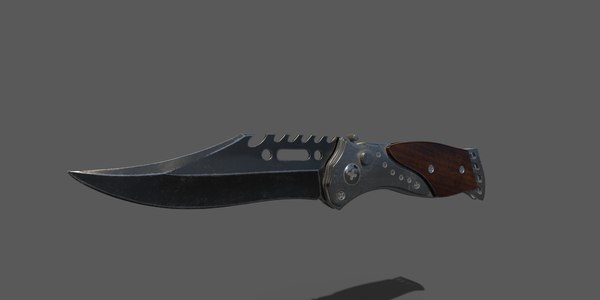 knife ready 3D model