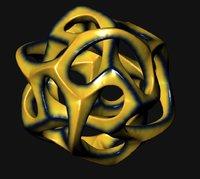 3D model sculpture generator
