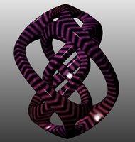 generated sculpture 3D model