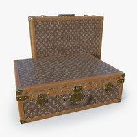 suitcase set 3D