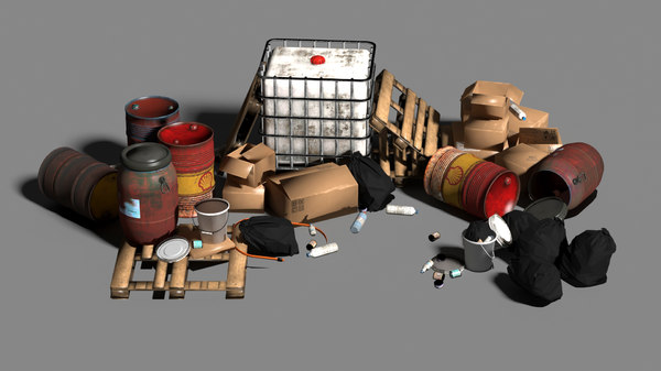3D model waste