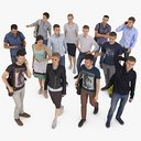 3D People Collection x13
