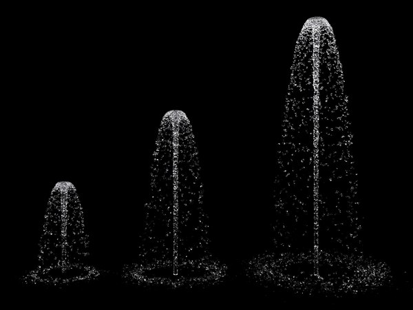 3D fountain set