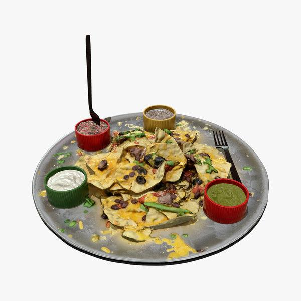 nachos real pbr 3D model