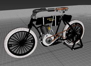 3D model harley