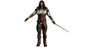 warrior 3D model