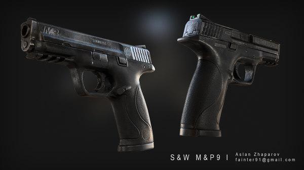 3d m pistol